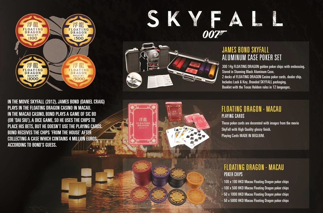 Digital Simon Freelance James Bond Skyfall poker